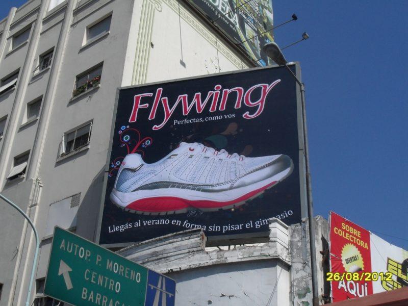 Campaña de Flywing para Vía Pública