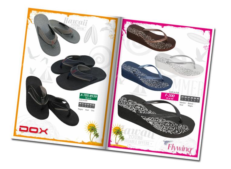 Catálogo de calzado verano 2014