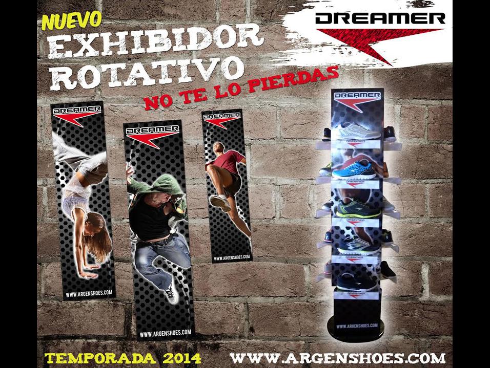 Nuevo exhibidor rotativo Dreamer