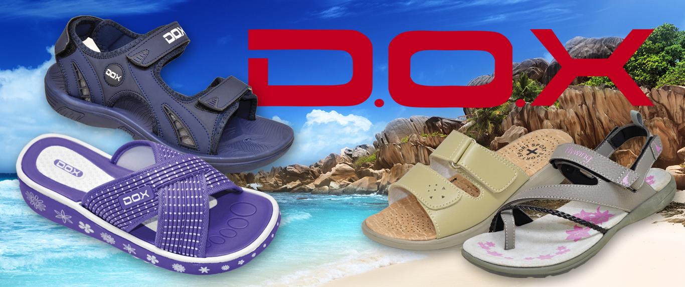 Venta de sandalias, chinelas y ojotas Dox